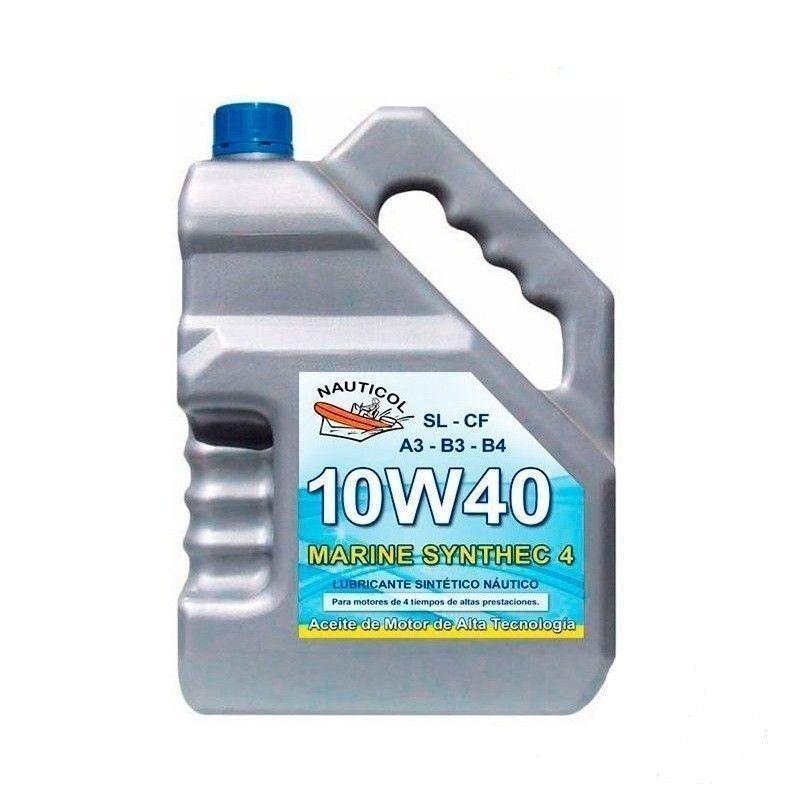 Aceite para motores fueraborda de semirrígidas