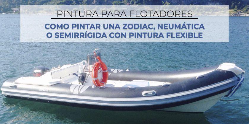Pintura para flotadores