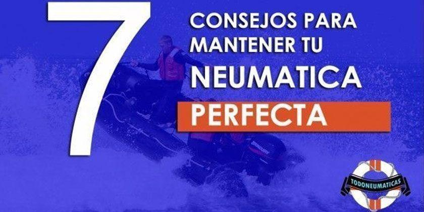 7 consejos para mantener tu neumática perfecta