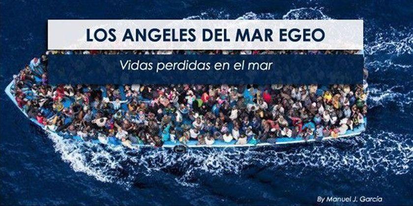 El conflicto de Siria, los ángeles del mar Egeo