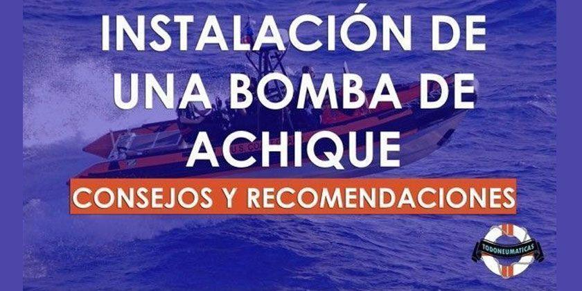 Como instalar una Bomba de achique en tu embarcación