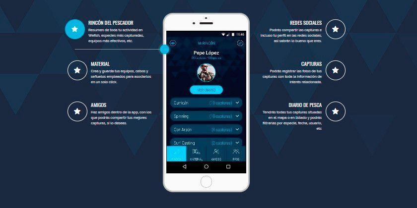 WEFISH: La App de tu Diario de Pesca