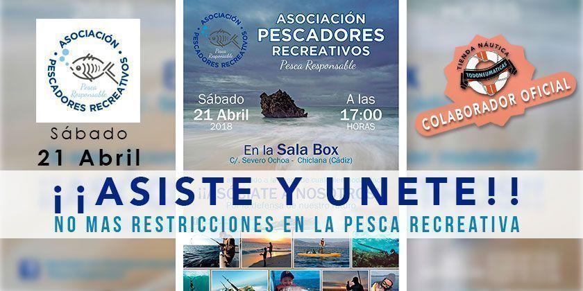 ¡¡ASISTE Y UNETE!! - No más restricciones en la Pesca Recreativa
