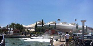 Incendio semirrígida en Ibiza