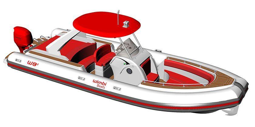 Semirrígida Wimbi W9 II, el nuevo modelo de Wimbi Boats