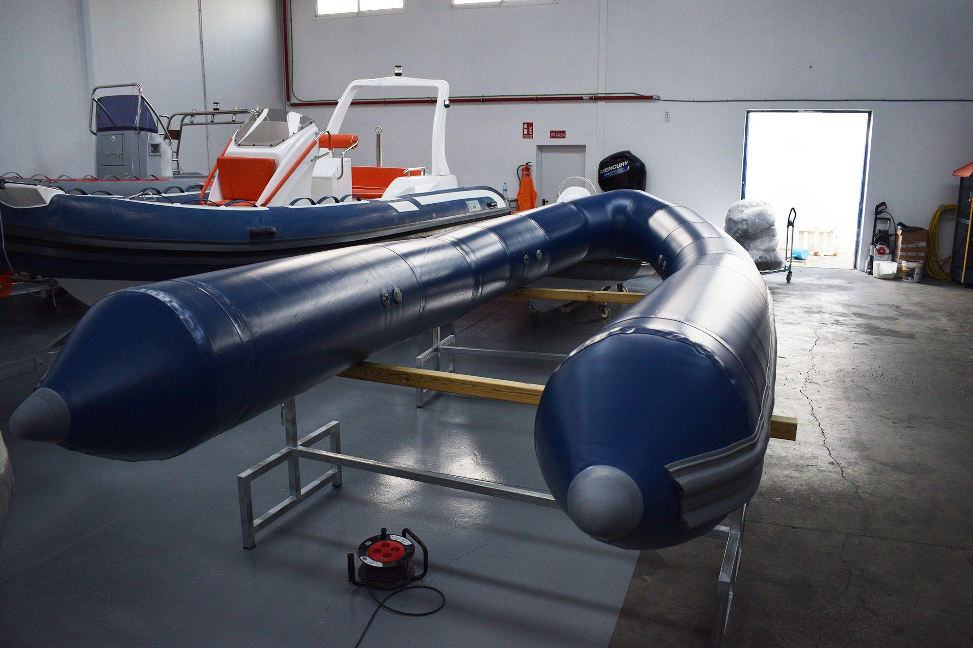Retubing en una embarcación Duarry Brio 520