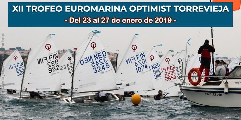 Presentación del XII Trofeo Euromarina Optimist Torrevieja