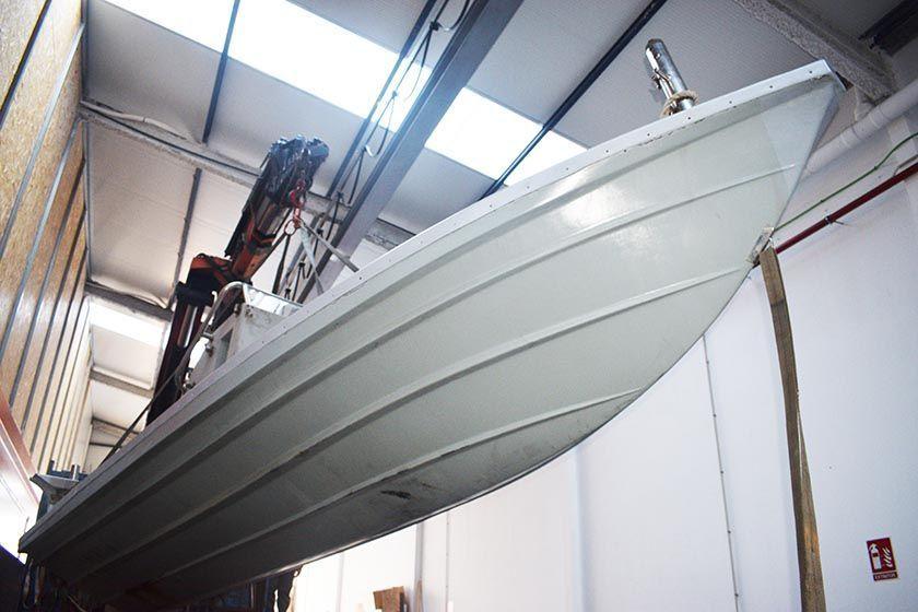 Cambio de flotador en Zodiac Hurricane 753