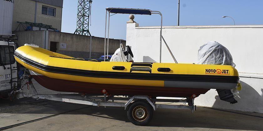 Cambio de flotador a una semirrígida BWA 550