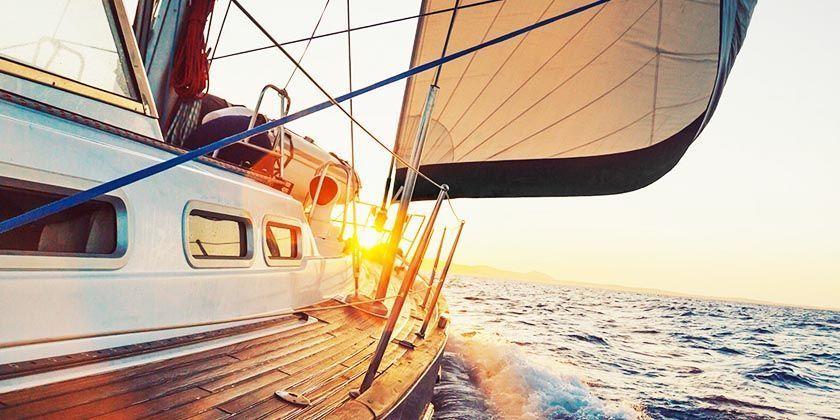 La primera vez en barco