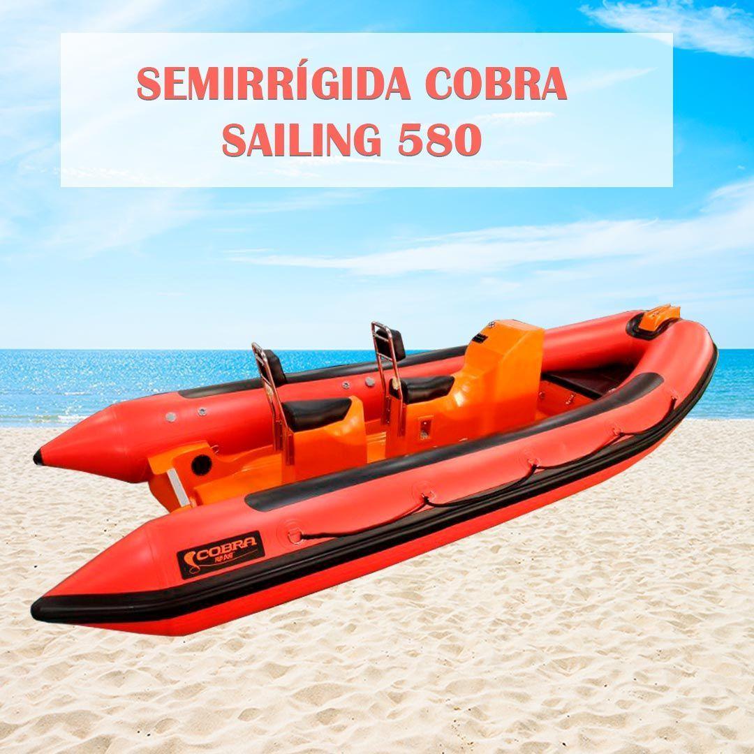 Nueva Semirrígida Cobra Sailing: perfecta para la vela