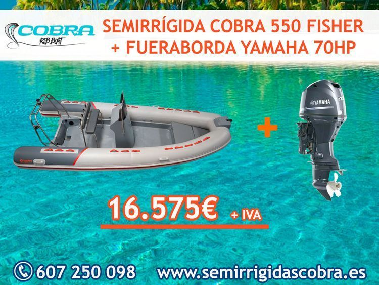 oferta pack cobra fisher 550