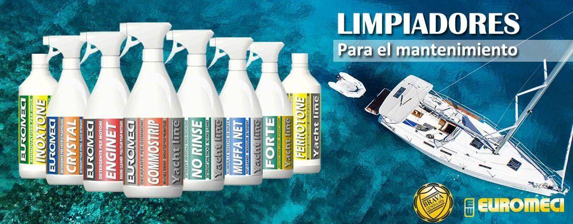 Limpiadores náuticos biodegradables contra la contaminación en el mar