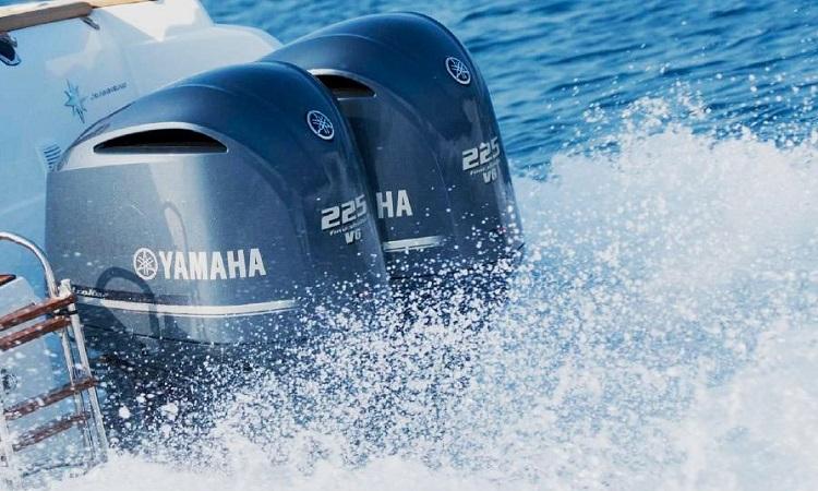 Bimotor fueraborda Yamaha