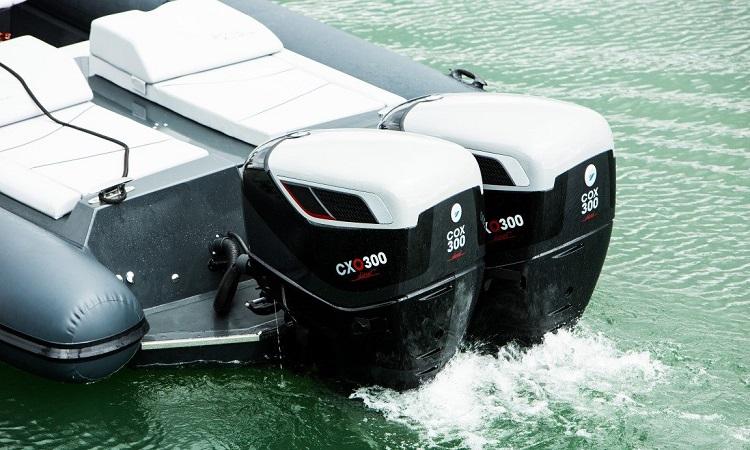 Motor fueraborda diésel COX300