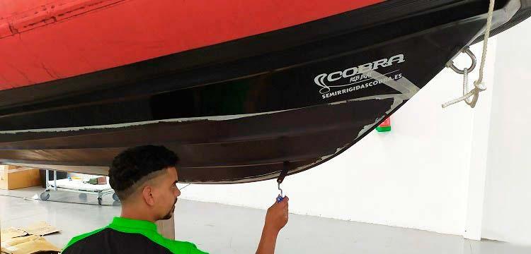 Pintar con Antifouling Cobra Sailing