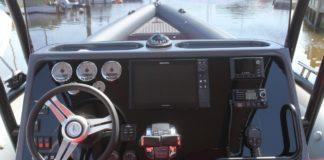 Luz de mantenimiento en motor fueraborda