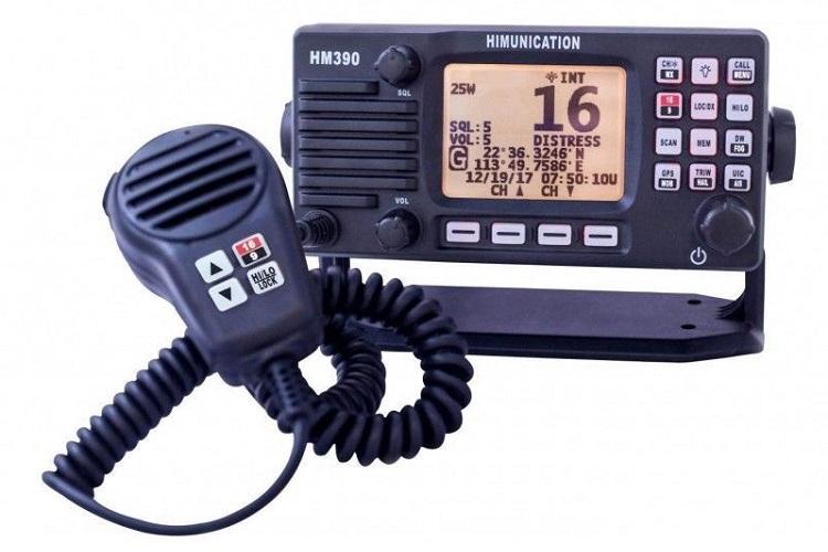Emisora de radio para barcos