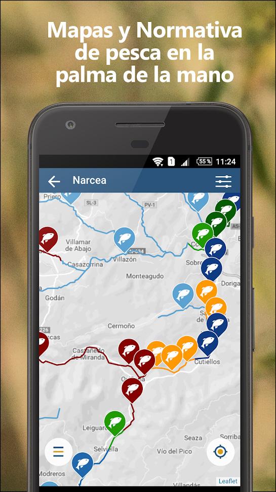 App de pesca - my fishing maps - artículo