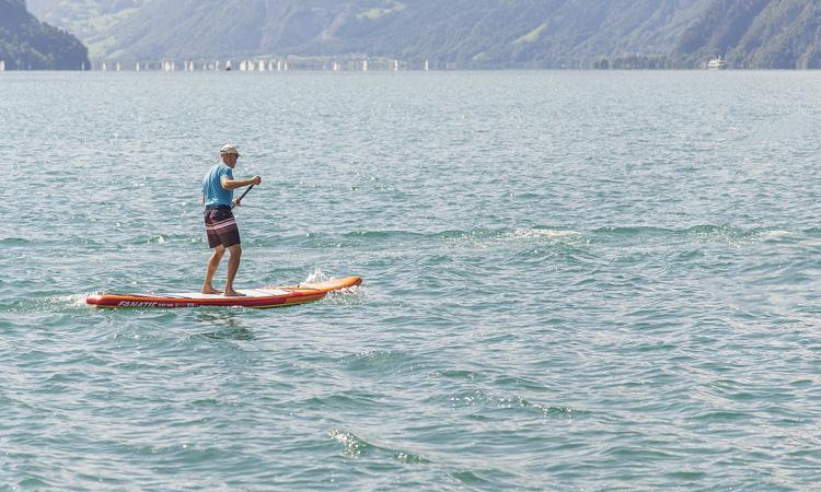 Paddle Surf - artículo - travesía