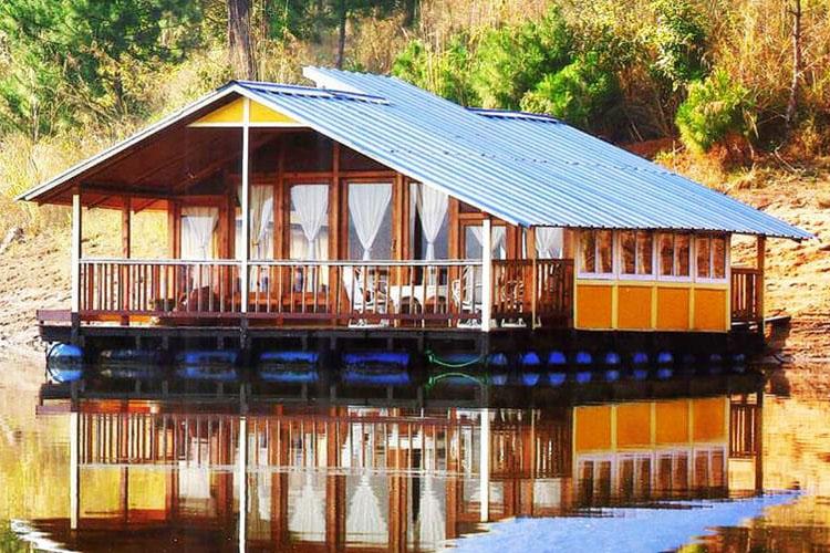 Casas flotantes y estilo de vida