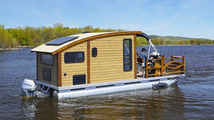 Casas flotantes y estilo de vida - portada
