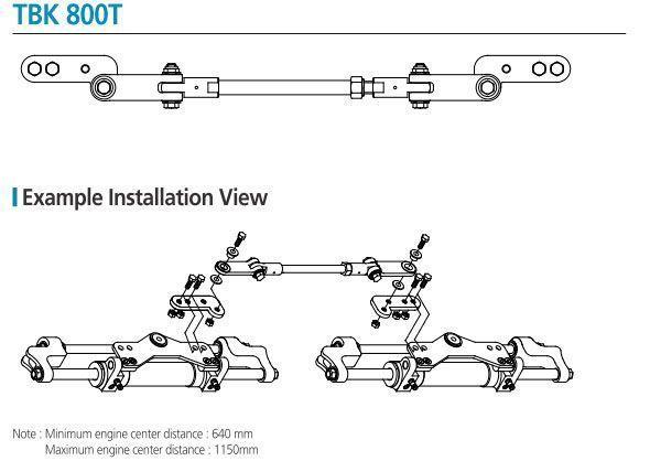 Dirección Hidráulica en 2 motores - artículo
