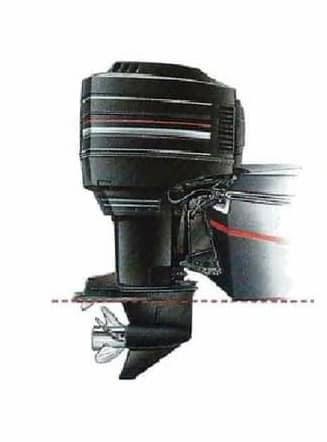 Tipos de instalación de motores fueraborda